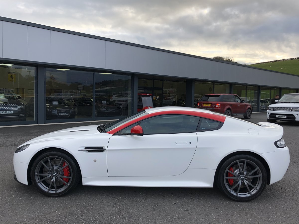 2014 64 ASTON MARTIN VANTAGE 4.7 N430 Coupe AUTO For Sale (picture 3 of 6)