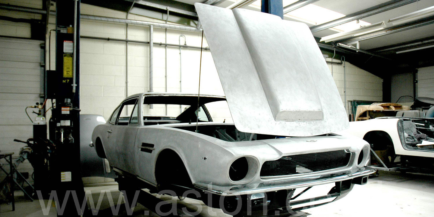 1976 Aston Martin V8 Project Car For Sale (picture 1 of 6)