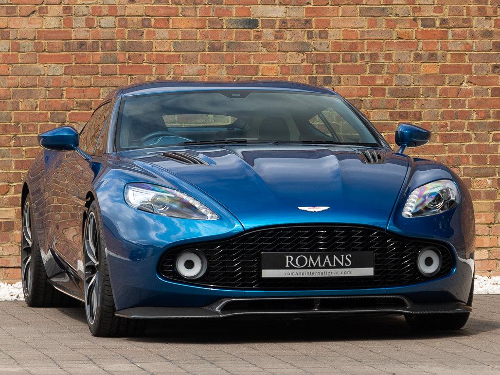 2017 Aston Martin Vanquish Zagato Coupe For Sale (picture 1 of 24)