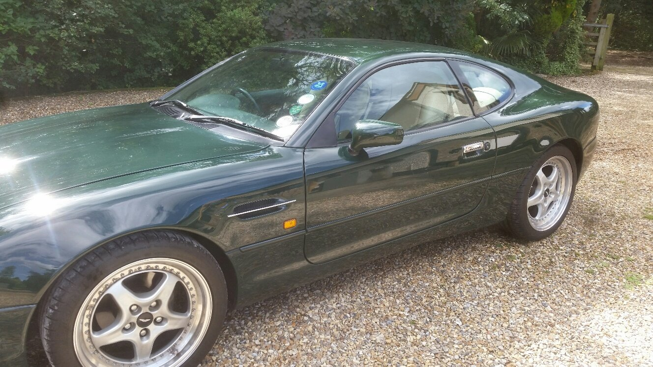 1995 Aston Martin db7 i6 British Racing Green Low Miles For Sale (picture 1 of 5)