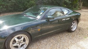1995 Aston Martin db7 i6 coupe in british racing green