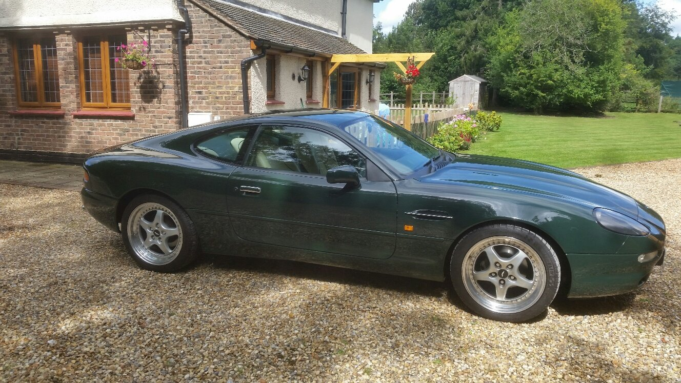 1995 Aston Martin db7 i6 British Racing Green Low Miles For Sale (picture 2 of 5)