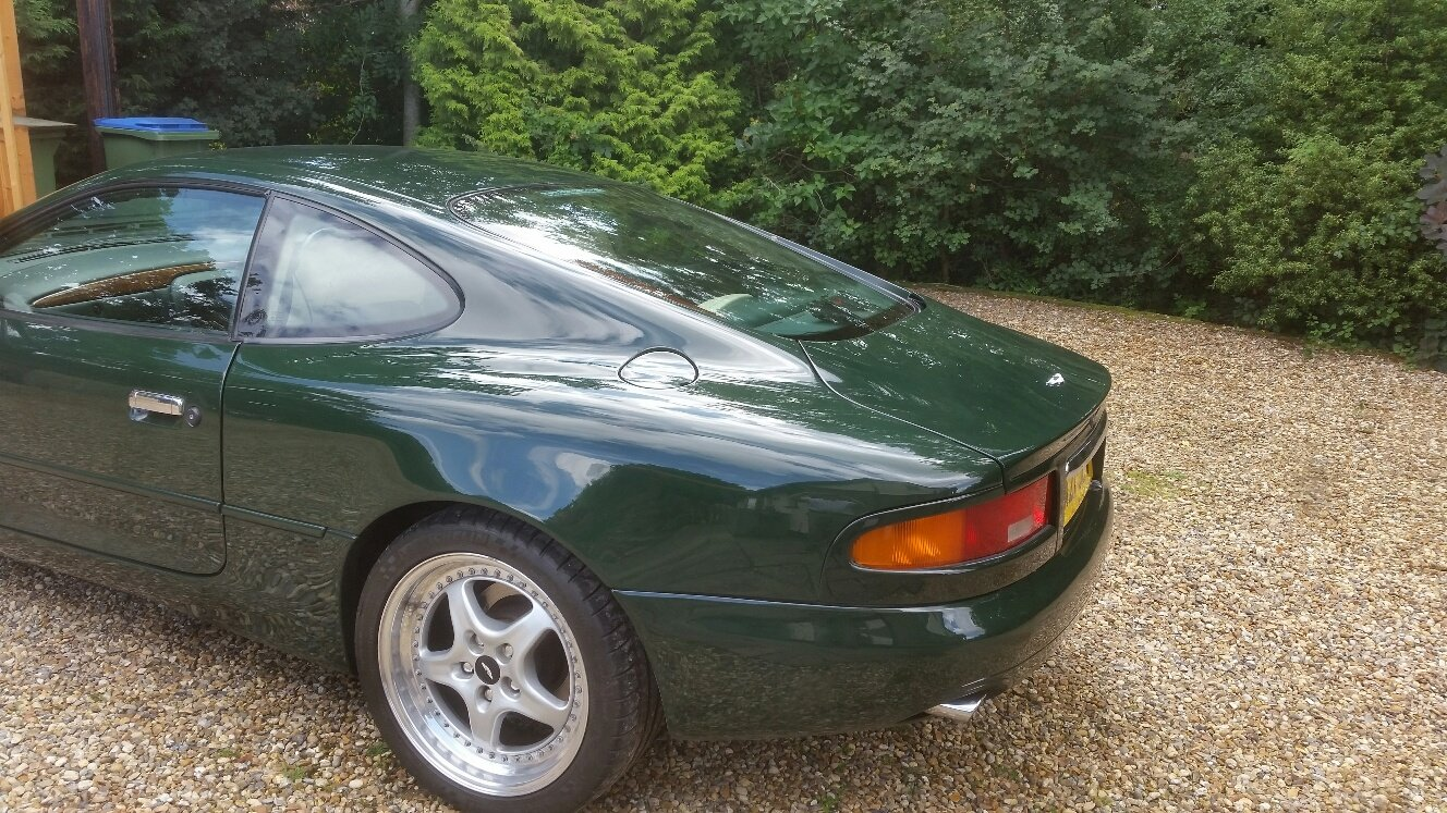 1995 Aston Martin db7 i6 British Racing Green Low Miles For Sale (picture 3 of 5)