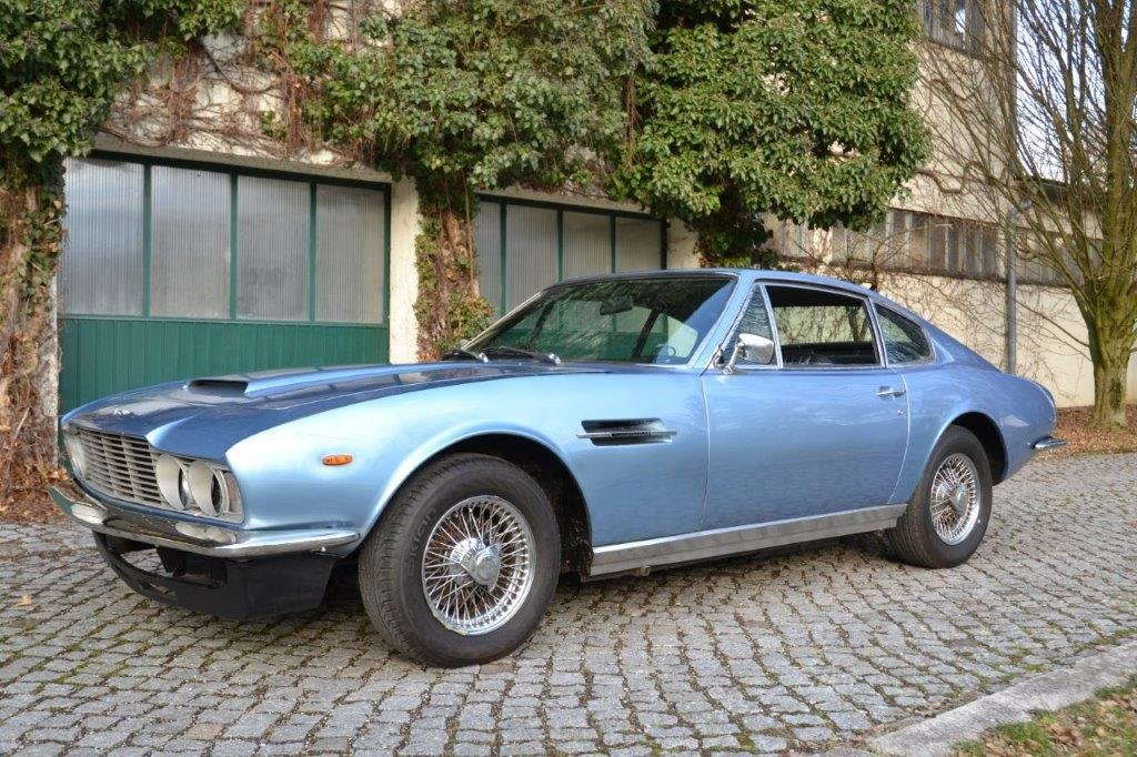 1972 DBS Vantage RHD - machting number and color For Sale (picture 2 of 6)
