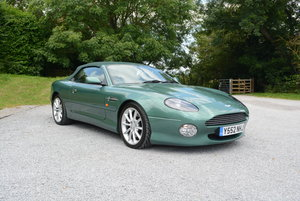 2001 Aston Martin DB7 Volante Low mileage  For Sale