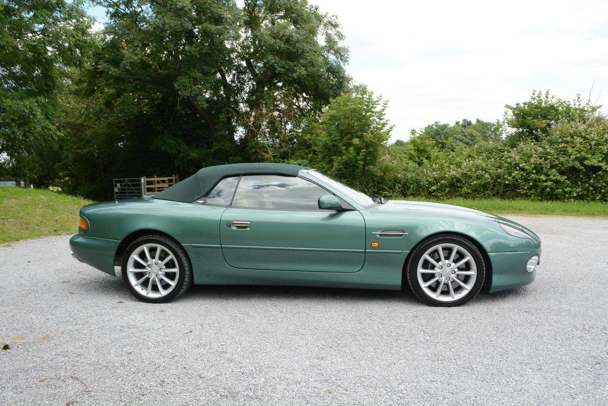 2001 Aston Martin DB7 Volante Low mileage  For Sale (picture 2 of 6)