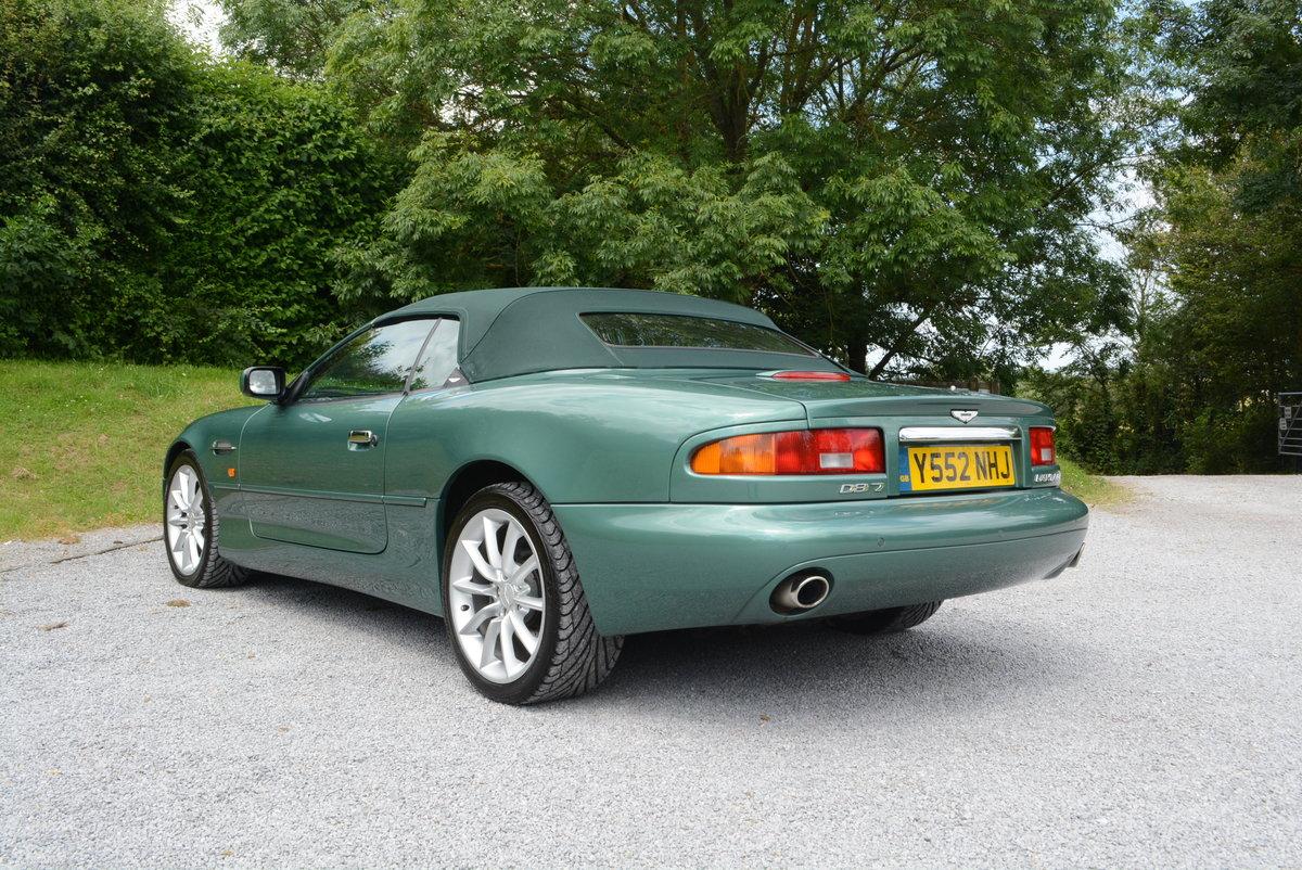 2001 Aston Martin DB7 Volante Low mileage  For Sale (picture 3 of 6)