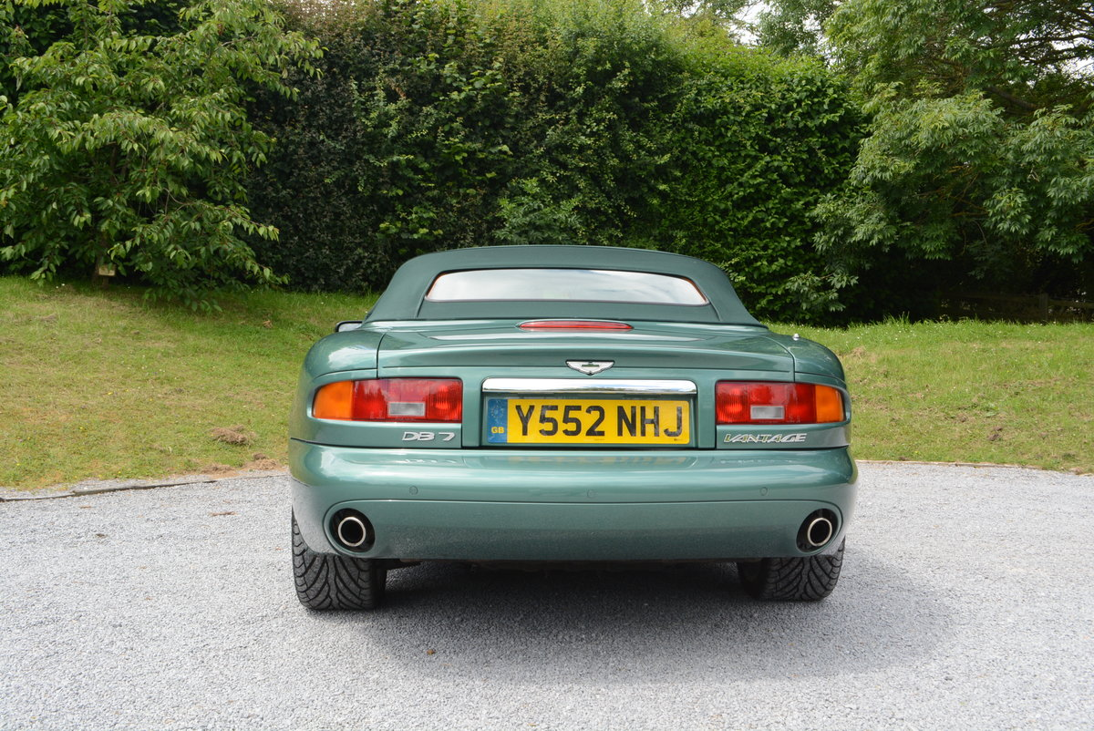 2001 Aston Martin DB7 Volante Low mileage  For Sale (picture 4 of 6)