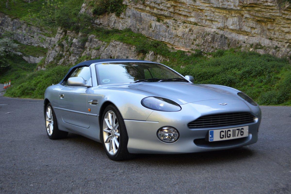 2001 Aston Martin DB7 Volante V12 Nice Spec For Sale (picture 1 of 6)