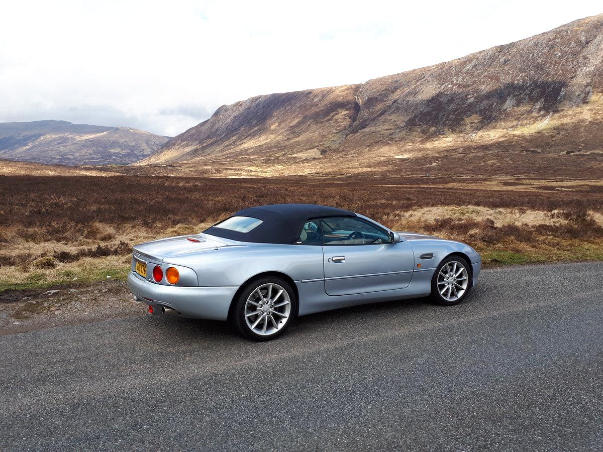2001 Aston Martin DB7 Volante V12 Nice Spec For Sale (picture 3 of 6)