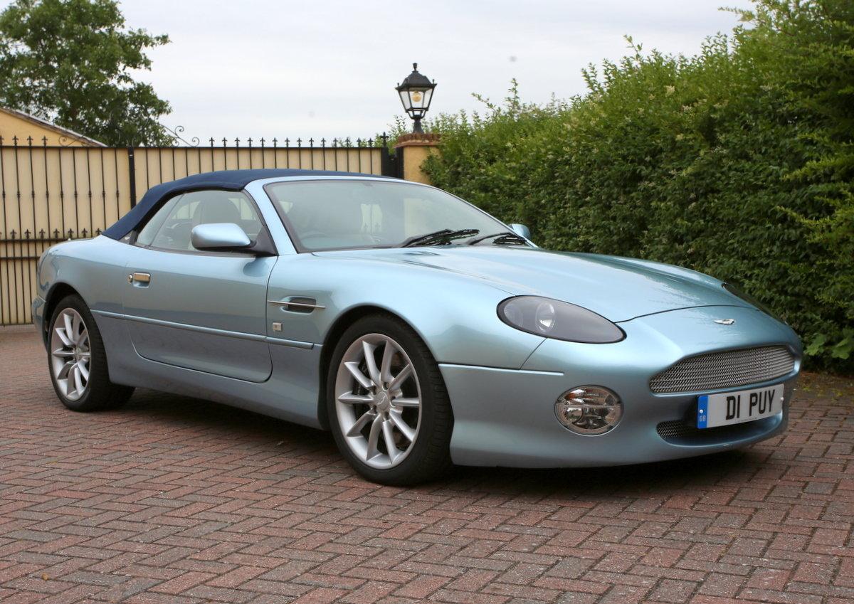 2003 Aston Martin DB7 Volante For Sale (picture 1 of 6)