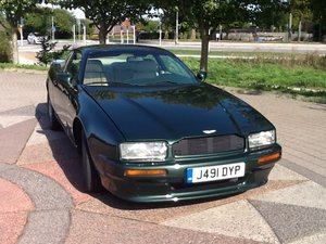 1992 ASTON MARTIN VIRAGE COUPE LHD For Sale