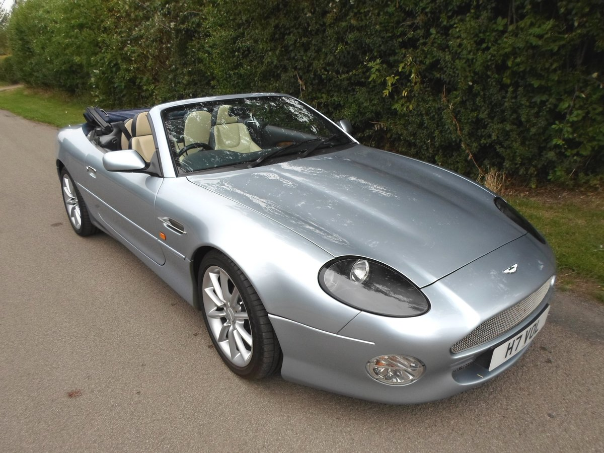 2001 Aston Martin DB7 Vantage Volante (Manual) SOLD (picture 1 of 6)