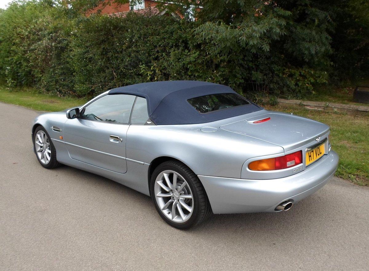 2001 Aston Martin DB7 Vantage Volante (Manual) SOLD (picture 3 of 6)
