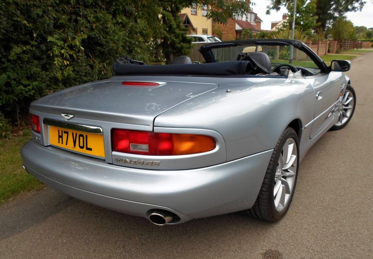 2001 Aston Martin DB7 Vantage Volante (Manual) For Sale (picture 4 of 6)