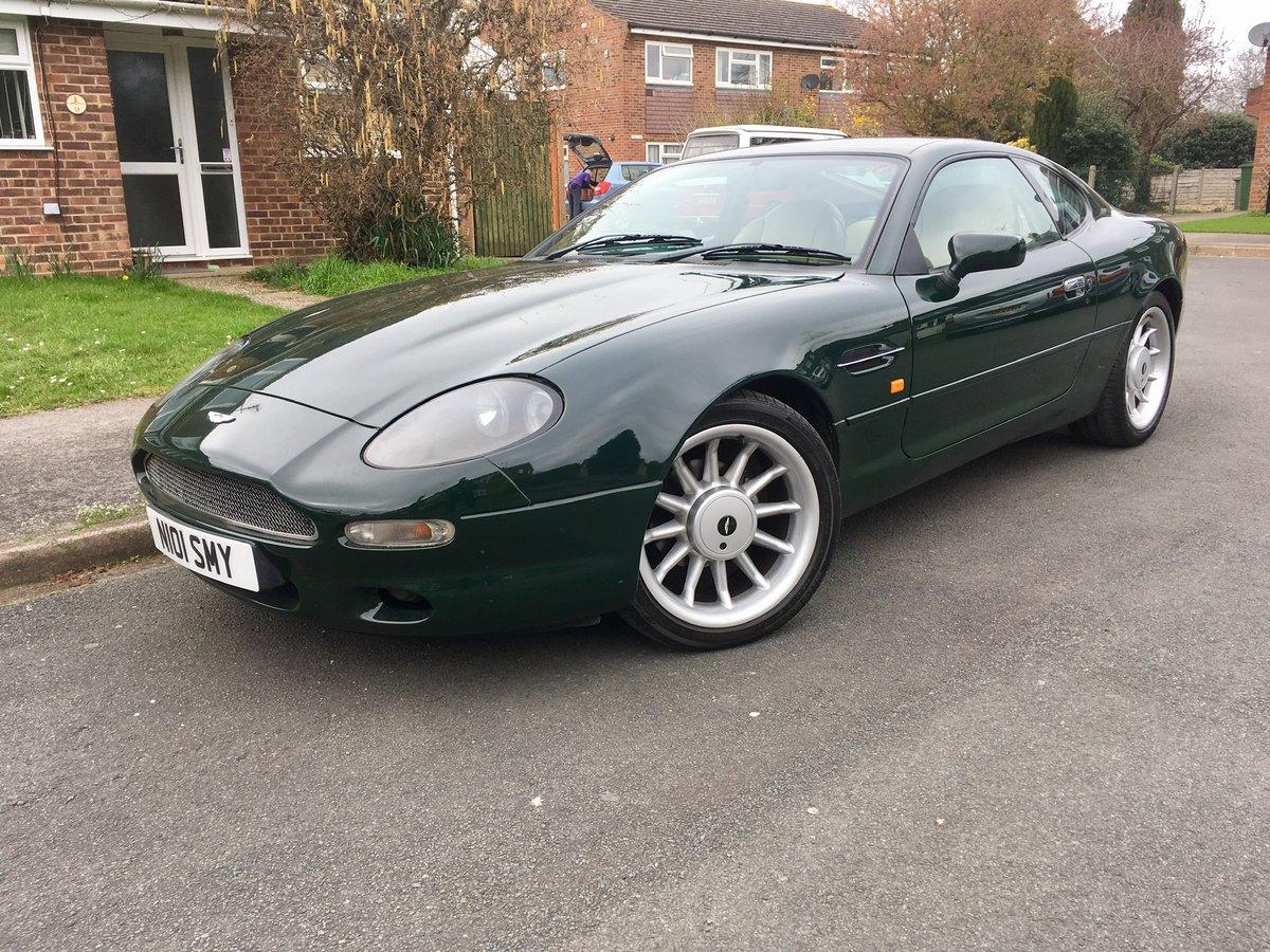 1996 Aston Martin Db7 I6 3 2 Auto Important Update Sold