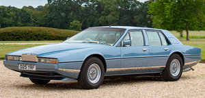 1986 ASTON MARTIN LAGONDA SERIES 3 SALOON For Sale by Auction