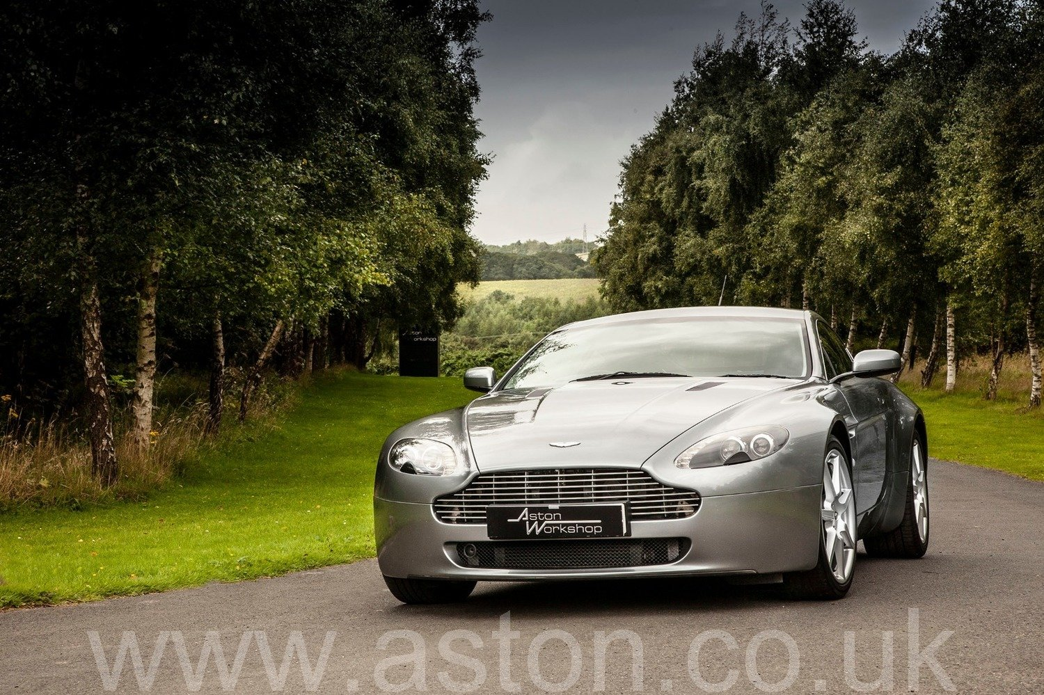 2007 Aston Martin V8 Vantage Coupe Manual  SOLD (picture 1 of 6)