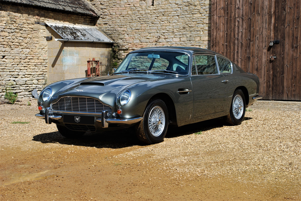 1968 Aston Martin DB6 Manual SOLD (picture 1 of 6)