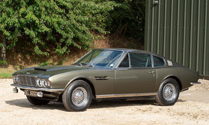 1968 ASTON MARTIN DBS VANTAGE SPORTS SALOON For Sale by Auction