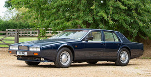 1991 ASTON MARTIN LAGONDA SERIES 4 SALOON For Sale by Auction