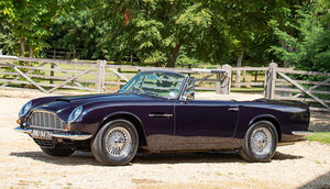 1969 ASTON MARTIN DB6 MARK 2 VOLANTE CONVERTIBLE TO VANTAGE  For Sale by Auction