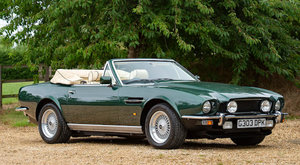 1990 ASTON MARTIN V8 VOLANTE CONVERTIBLE For Sale by Auction