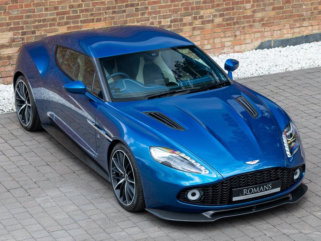 2017 Aston Martin Vanquish Zagato Coupe For Sale (picture 18 of 24)