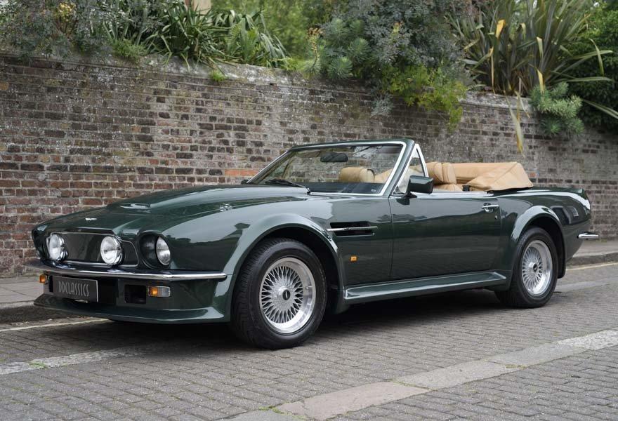 1989 Aston Martin V8 Vantage X-pack Volante (RHD) For Sale (picture 1 of 24)