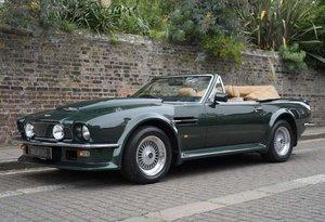 1989 Aston Martin V8 Vantage X-pack Volante (RHD) For Sale