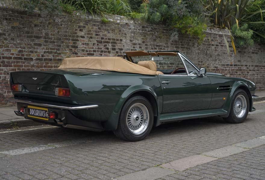 1989 Aston Martin V8 Vantage X-pack Volante (RHD) For Sale (picture 3 of 24)
