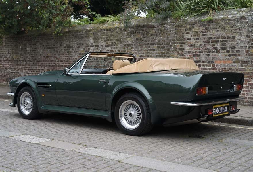 1989 Aston Martin V8 Vantage X-pack Volante (RHD) For Sale (picture 4 of 24)