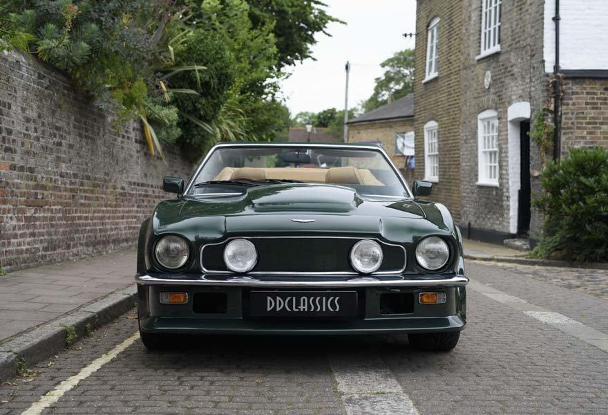1989 Aston Martin V8 Vantage X-pack Volante (RHD) For Sale (picture 5 of 24)