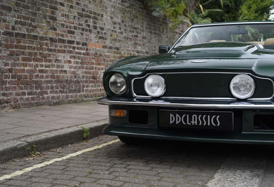 1989 Aston Martin V8 Vantage X-pack Volante (RHD) For Sale (picture 7 of 24)