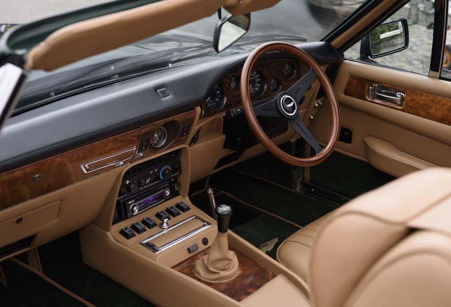 1989 Aston Martin V8 Vantage X-pack Volante (RHD) For Sale (picture 23 of 24)