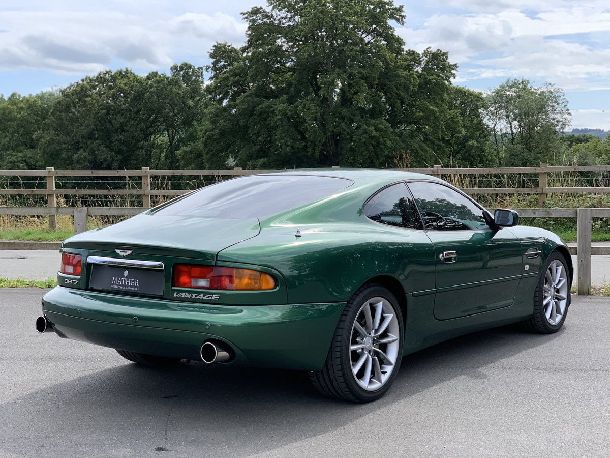 2001 Aston Martin DB7 Vantage  For Sale (picture 4 of 9)
