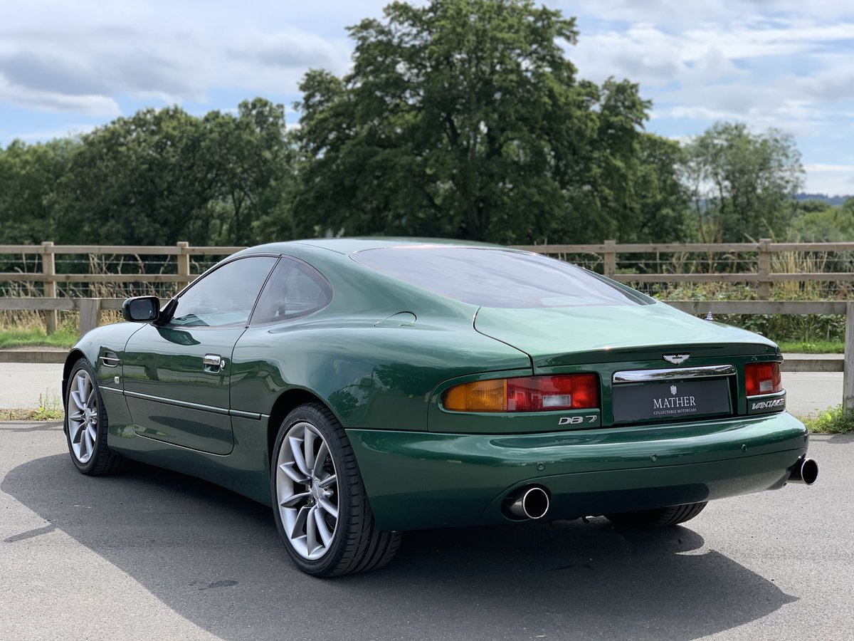 2001 Aston Martin DB7 Vantage  For Sale (picture 6 of 9)