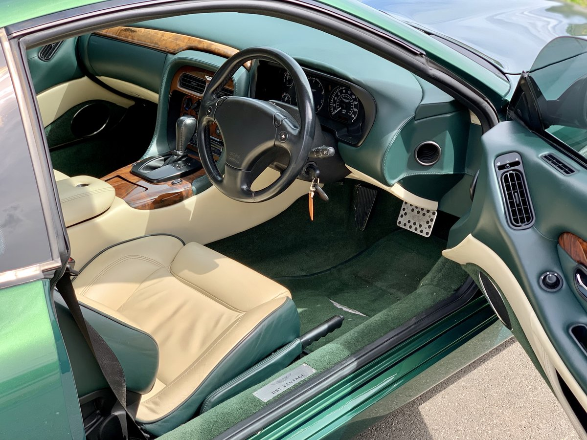 2001 Aston Martin DB7 Vantage  For Sale (picture 7 of 9)