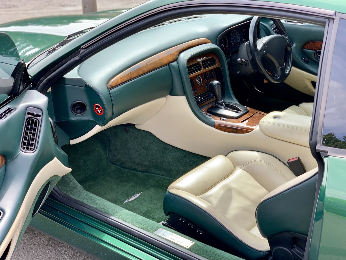 2001 Aston Martin DB7 Vantage  For Sale (picture 8 of 9)