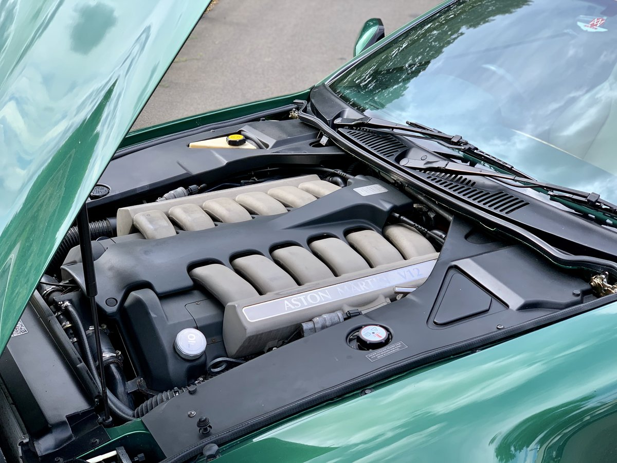 2001 Aston Martin DB7 Vantage  For Sale (picture 9 of 9)