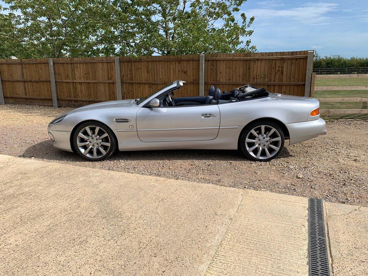 2001 Aston Martin DB7 Vantage Volante Auto For Sale (picture 1 of 6)