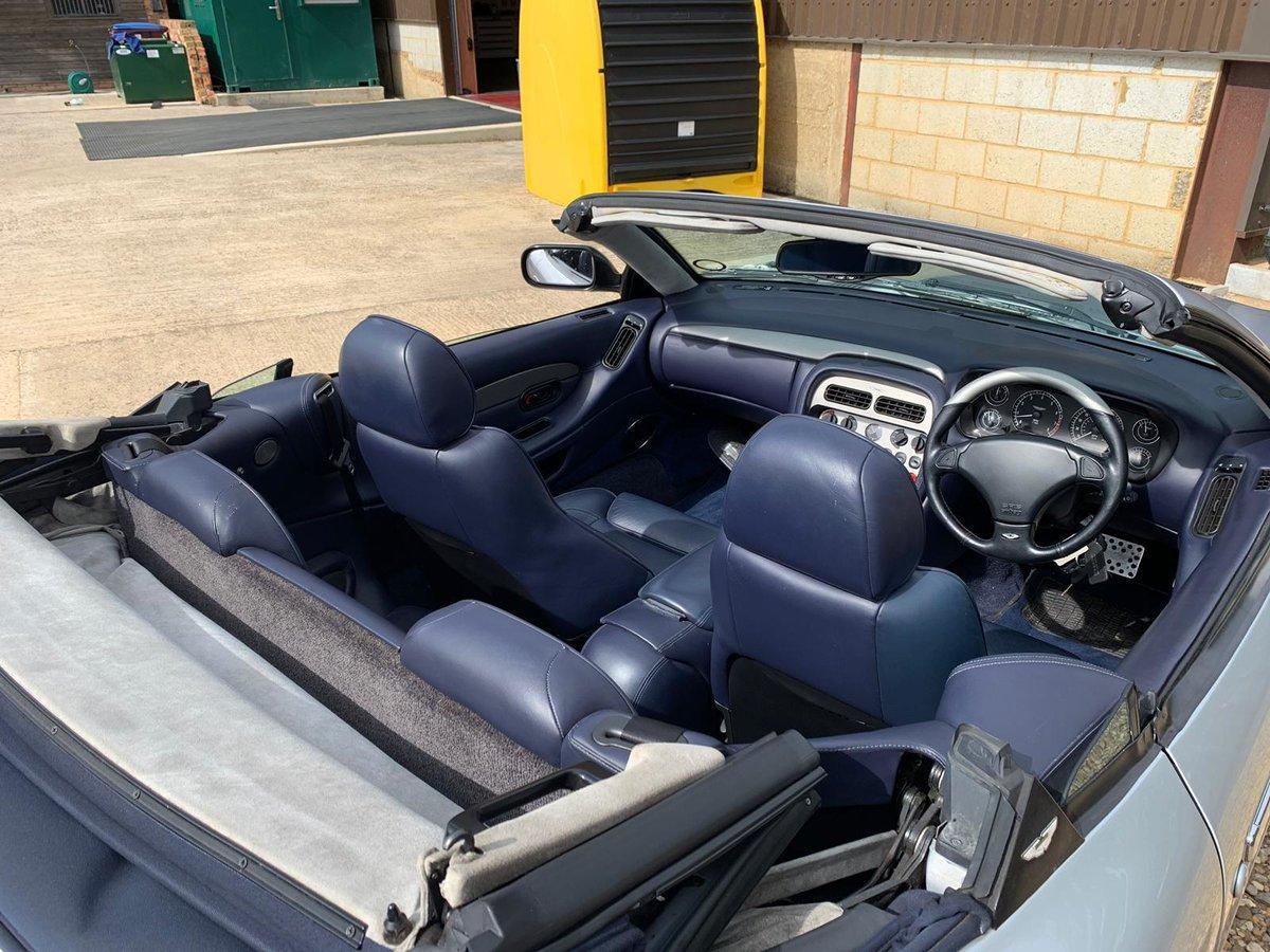2001 Aston Martin DB7 Vantage Volante Auto For Sale (picture 2 of 6)