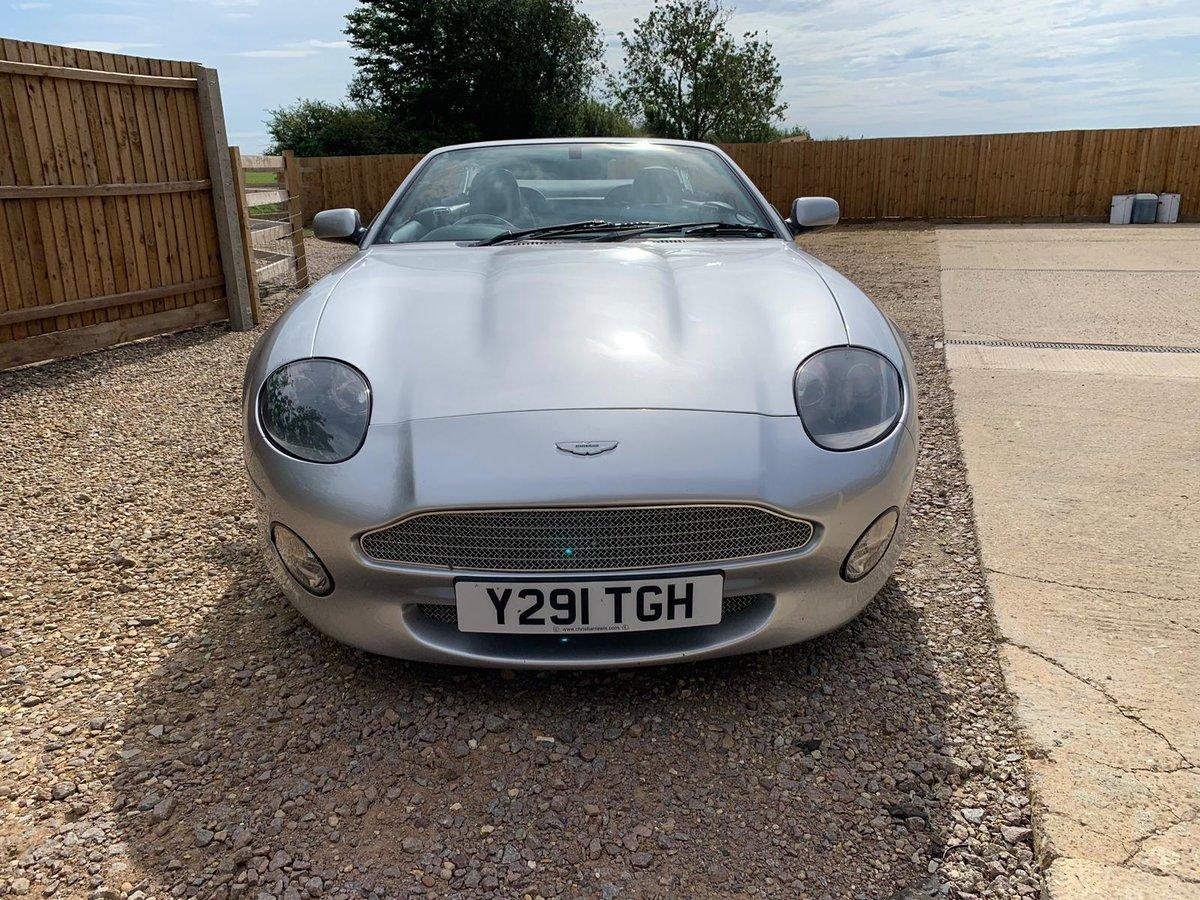 2001 Aston Martin DB7 Vantage Volante Auto For Sale (picture 3 of 6)