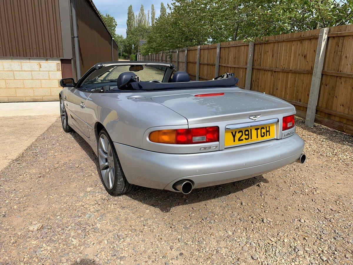 2001 Aston Martin DB7 Vantage Volante Auto For Sale (picture 4 of 6)