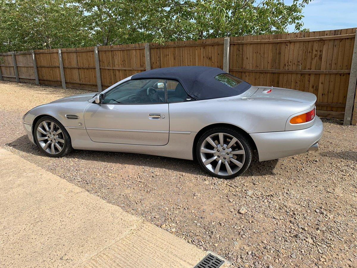 2001 Aston Martin DB7 Vantage Volante Auto For Sale (picture 5 of 6)