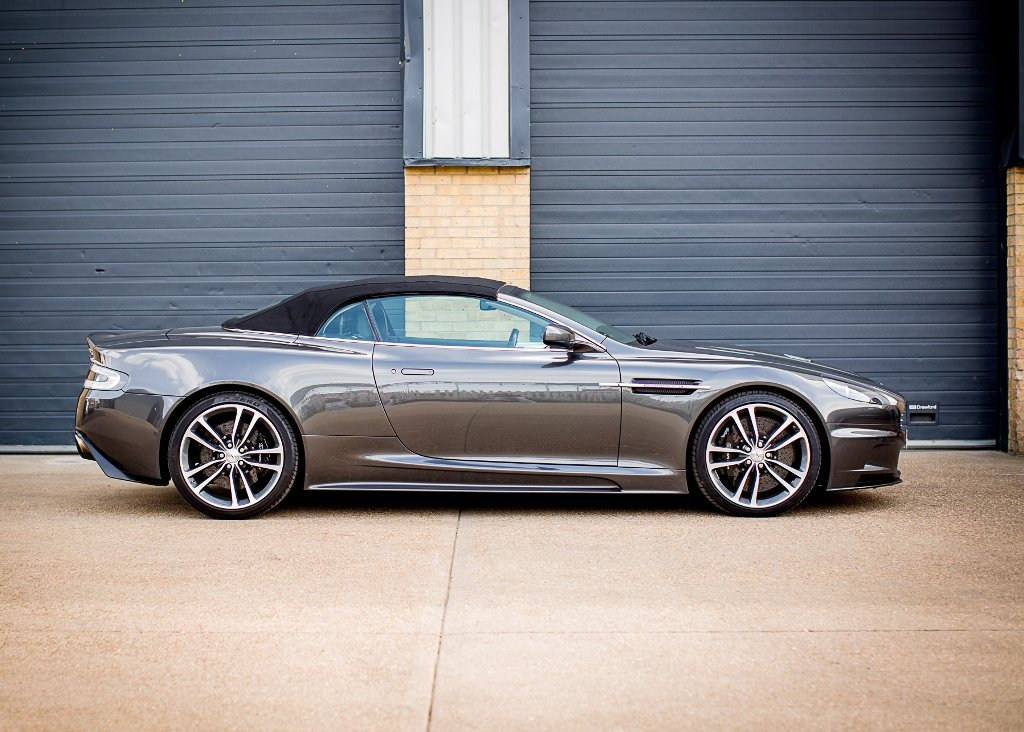2010 Aston Martin DBS Volante SOLD by Auction (picture 2 of 6)