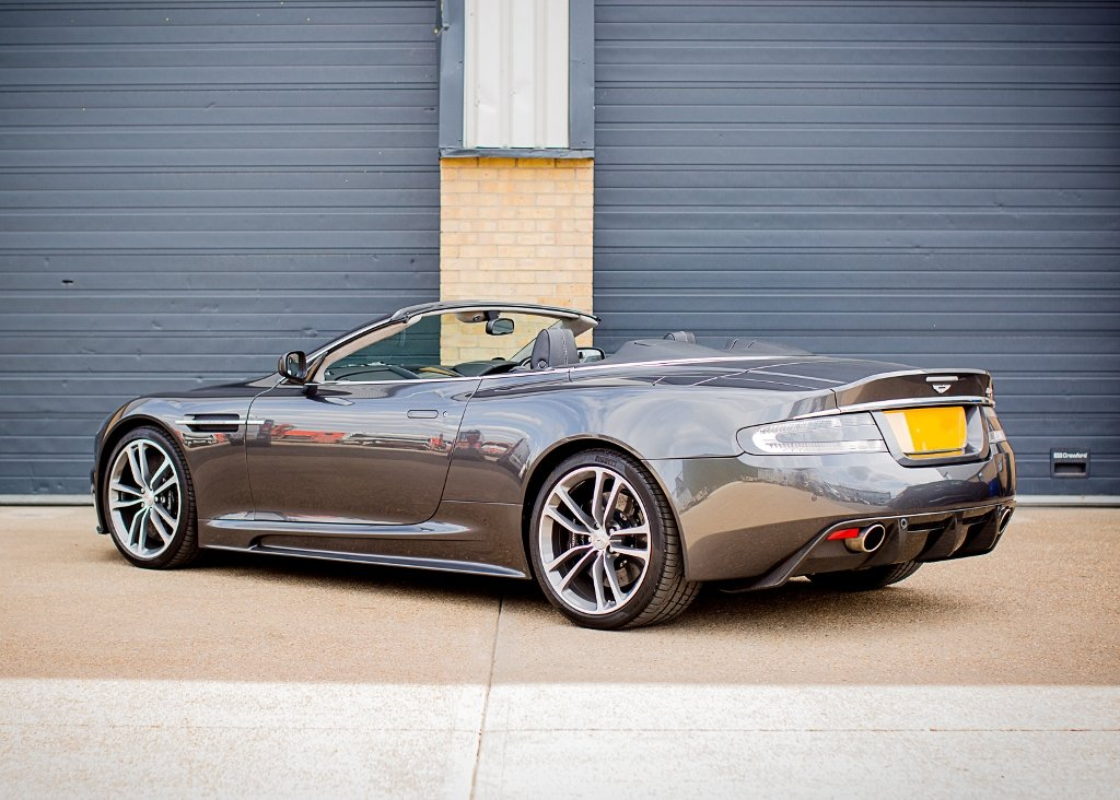 2010 Aston Martin DBS Volante SOLD by Auction (picture 3 of 6)