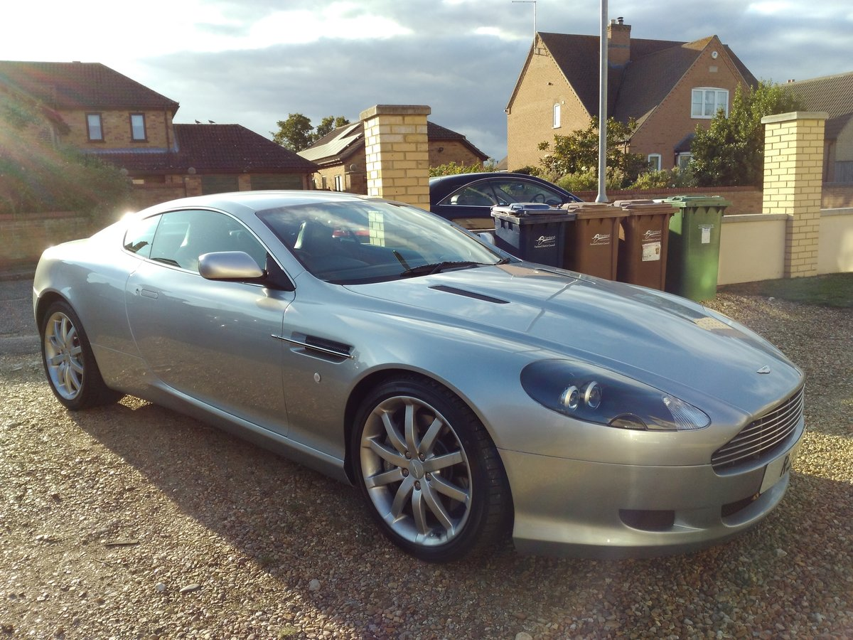 2005 Aston Martin DB9, V12, FSH, Cheapest In UK For Sale (picture 1 of 6)
