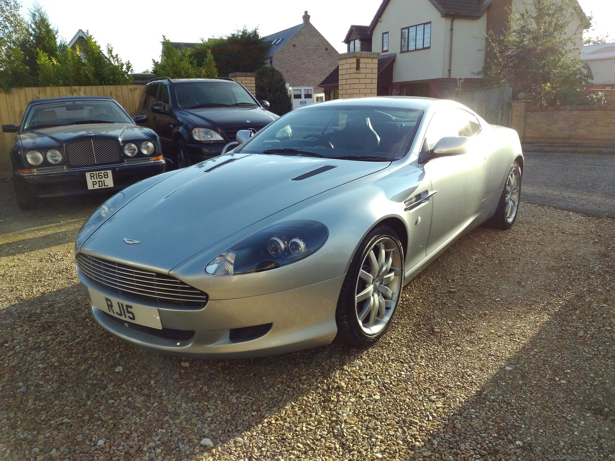 2005 Aston Martin DB9, V12, FSH, Cheapest In UK For Sale (picture 2 of 6)