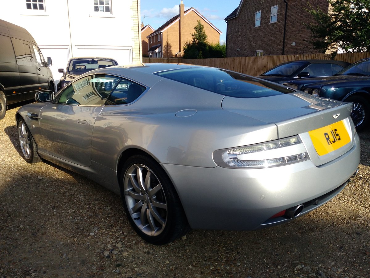 2005 Aston Martin DB9, V12, FSH, Cheapest In UK For Sale (picture 3 of 6)